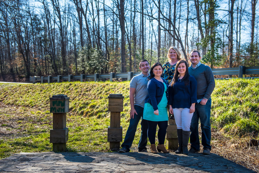 SARA CORCE/Sara Corce Visuals Dawn Vang and her immediate family stand and pose for a portrait session on February 17, 2016 in Troy, North Carolina.