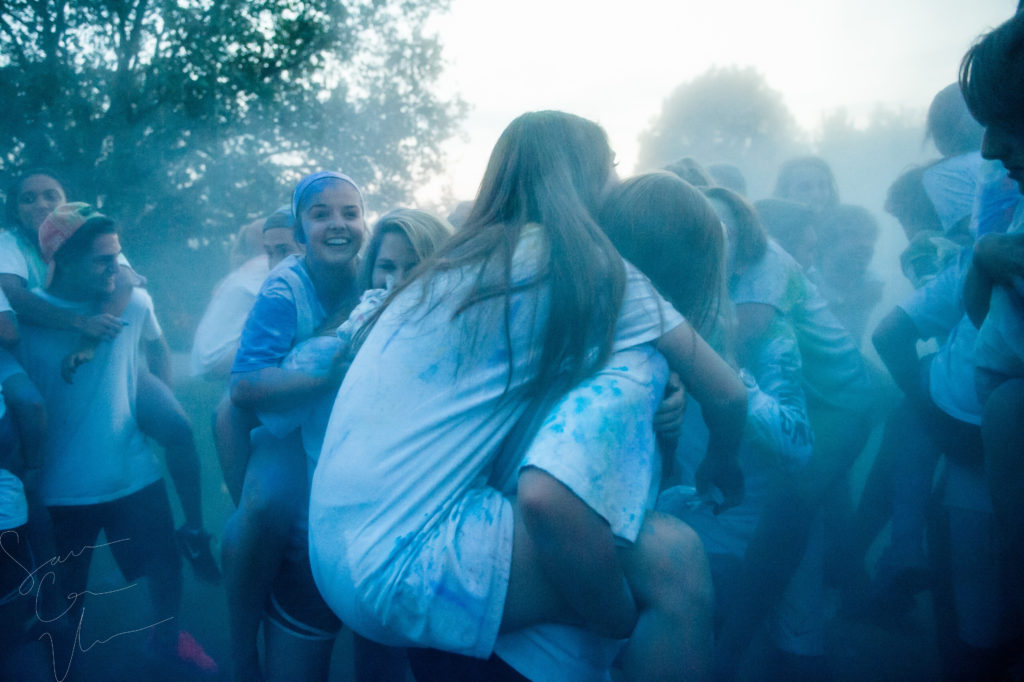SARA CORCE/Sara Corce Visuals Selected Scenes from Monday, September 17, 2016 in Southern Pines, North Caroina/ YoungLife Paint Fight